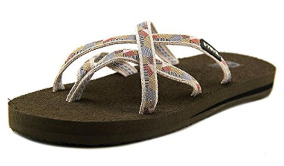 Newest Teva flip-flops women