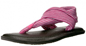 Newest Sanuk flip-flops for kids