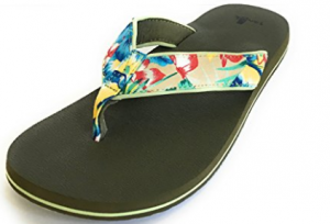 Newest Sanuk men flip-flops